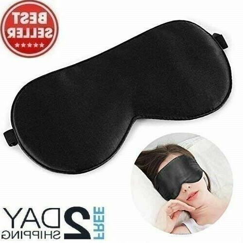 Alaska Bear Natural Silk Sleep Mask Blindfold Super Smooth E