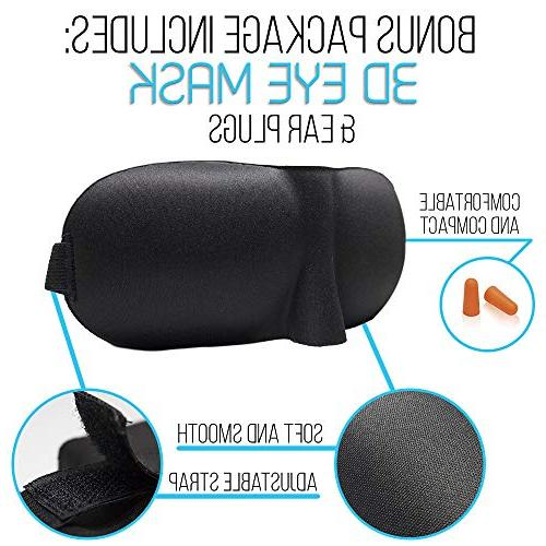 Anti Snoring Strap and with 3D Eye Mask and to and Snoring
