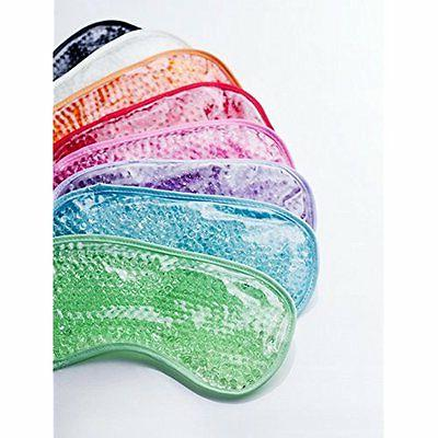 Ariel EDGE Plush Hot Cold Eye Mask 8 COLORS AVAILABLE