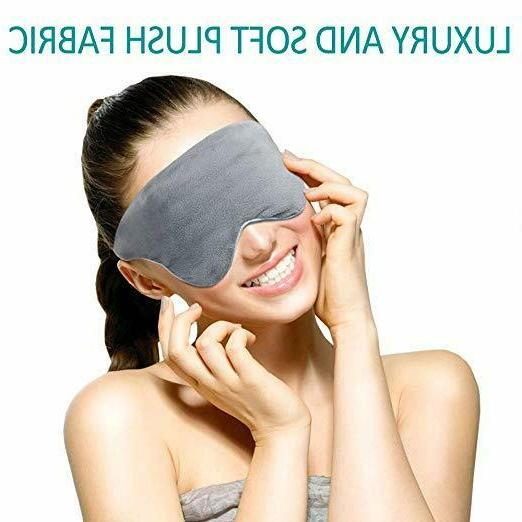 AsFrost Natural Silk Blindfold, Super-Smooth Eye