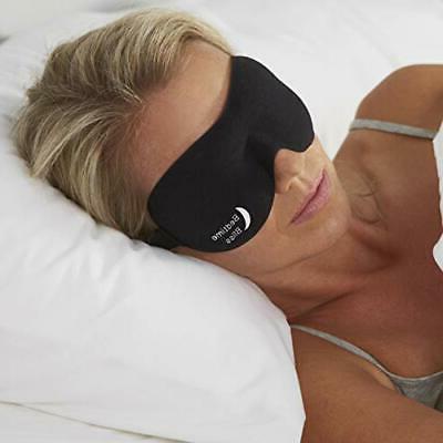 Bedtime Bliss Sleep Mask contorneado y cómodo con Moldex Ea
