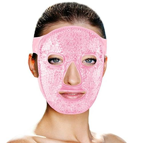 cold therapy gel bead facial
