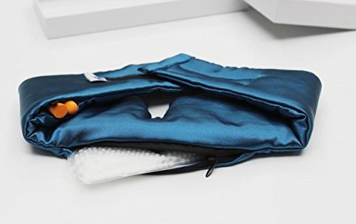 Sleep Sleep Mask - Luxury Design - Adjustable Eye Mask Strap for Comfortable Sleeping Cool Pack