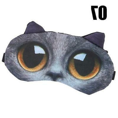 Cute Cat Eye Shade Natural Eye Patch Wom