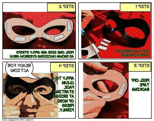 Riddler Eye Mask Authentic