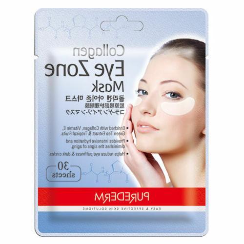 Deluxe Collagen Eye Mask Collagen Pads For Women Natural Eye