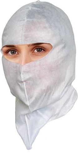 Soft-Stretch Disposable Hood, Headcover for Cleanroom or Hea