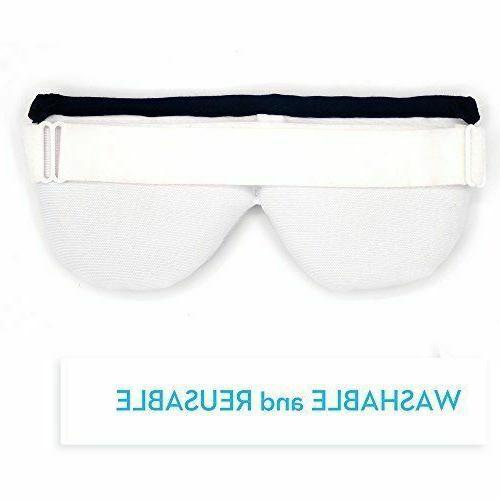 Kimkoo Eye Compress Heat Dry Mask Microwave Heating Pad Washable-NEW