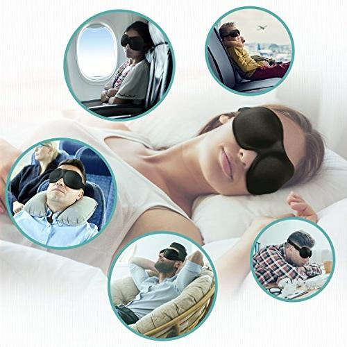 Eye Unimi Mask Men Women, Block Out Light, Comfort and 3D Cover, Eyeshades Work, Blindfold