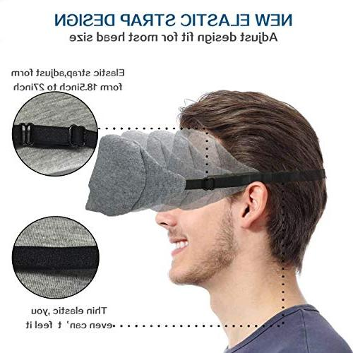 LEEKEN Eye mask Sleeping,100% Handmade Mask Blindfold Pouch