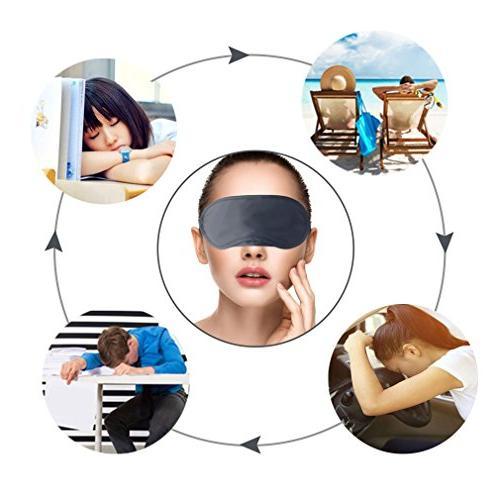 Amariver Eye Mask Shade Cover, Blindfold Travel Mask Sleeping Pad, Light Relax Cover