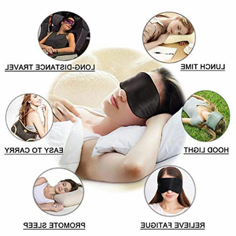 Eye Mask Shade Rest Sleep Natural For Women &