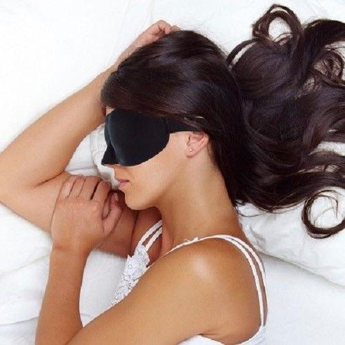 Eye Mask Sleep Shade Cover Blindfold Rest Travel