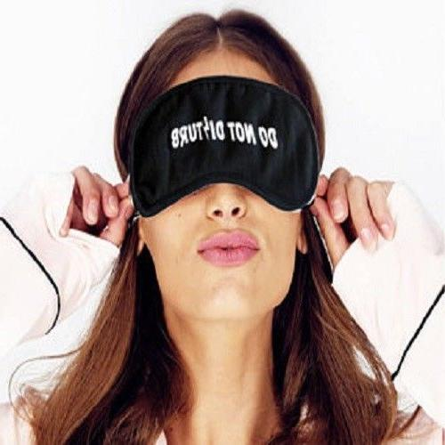 Eye Mask Sleep Cover Blindfold Travel Aid