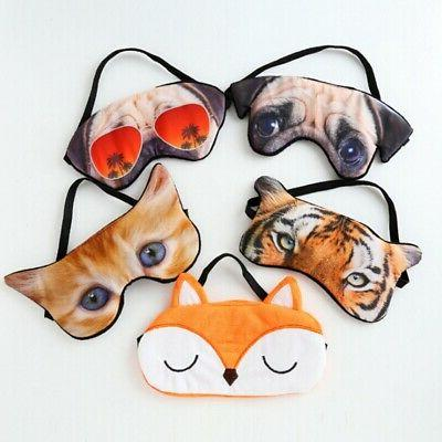 Eye masks sleeping aid blindfold sleep shade travel mask sof
