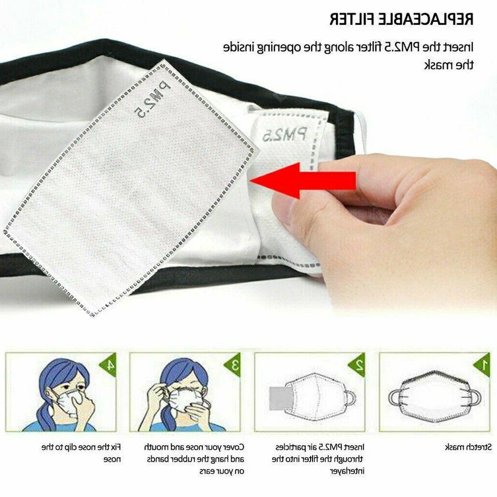 Face Eyes Shield Washable Reusable Pc Cotton Mask