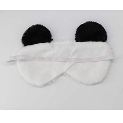 HXINFU Fluffy Mask for Eye Sleeping