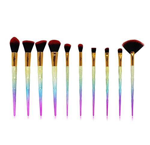 foundation eyebrow eyeliner blush concealer