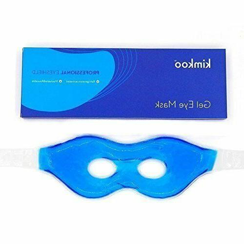 Kimkoo Gel Eye Mask Cold PadsCool Compress for Puffy Eyes an