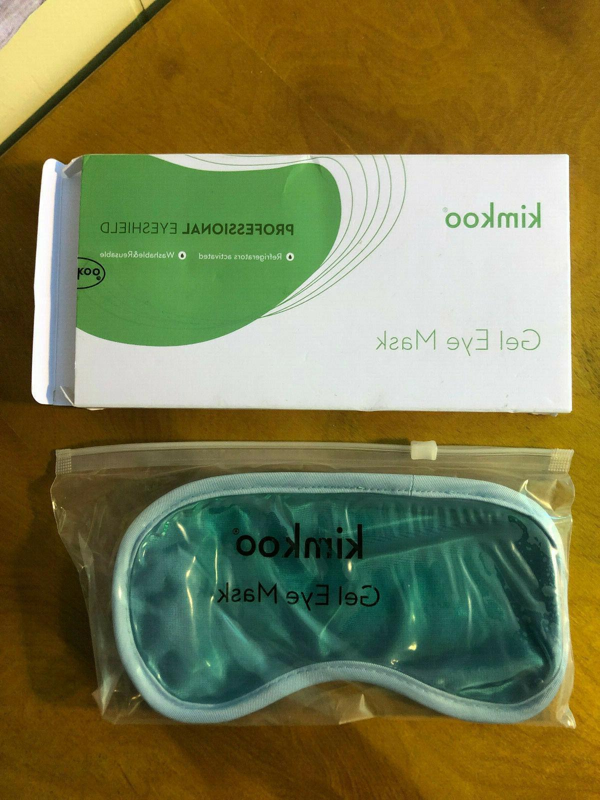 Kimkoo Gel Eye Mask Cold Pads&Cool Compress. Factory sealed
