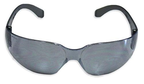 gray mirrored polycarbonate lens sporty