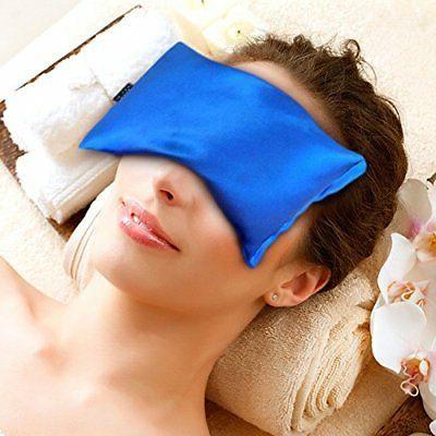 karmick hot cold eye mask blue lavender