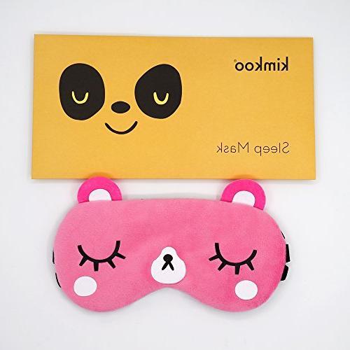 kimkoo Sleep mask &Super Soft Silk for for and Kids