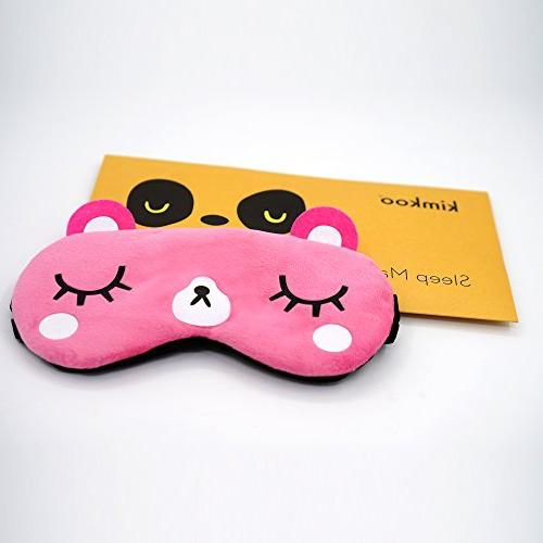kimkoo Soft Silk Eye for Sleeping,Blindfold for and Kids
