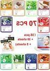 70pcs Natureby Korean Essence Facial Sheet mask Moisture Eye
