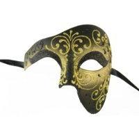 NEW Laser Cut Venetian Design Phantom of the Opera Style Mas