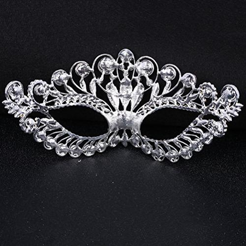 OULII Diamond Party Mask Women Lady