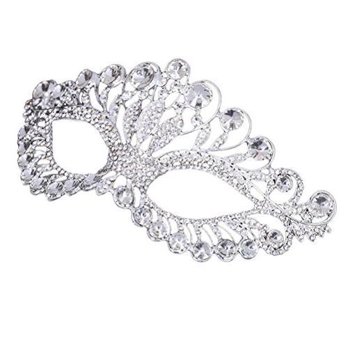 masquerade mask luxury diamond rhinestone