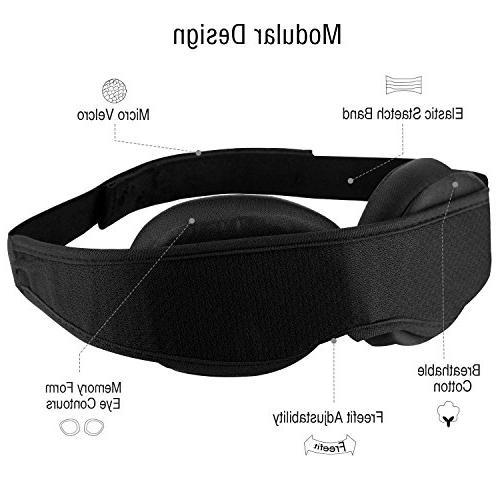 New Sleep -Never Eye Locking 100%- Airplane mask- Night Eyeshade