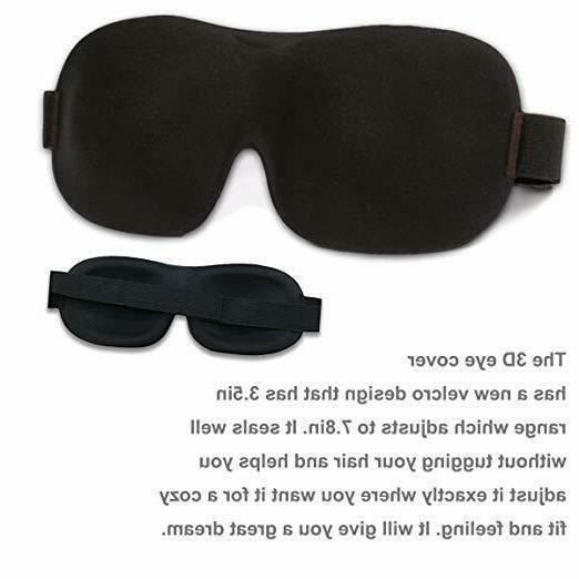 Whalek 3D Contoured Soft Eye shade Pack 2