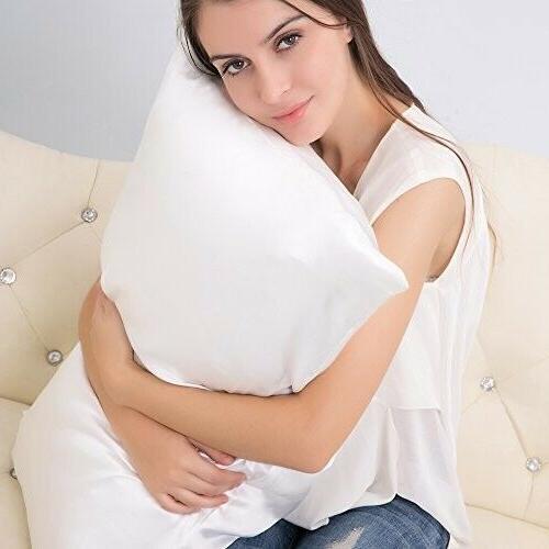 ALASKA Silk Pillowcase, Hypoallergenic, 19 momme, thread