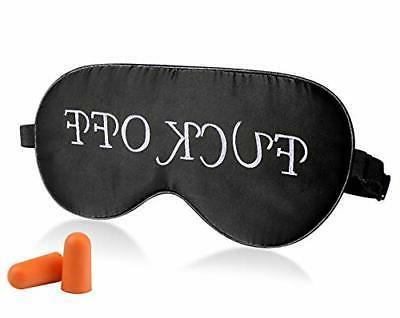 Fitglam Natural Silk Sleep Mask Eye Mask Cover Nap Blindfold