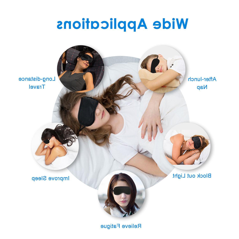 JEFlex Natural Silk Mask Blindfold Mask