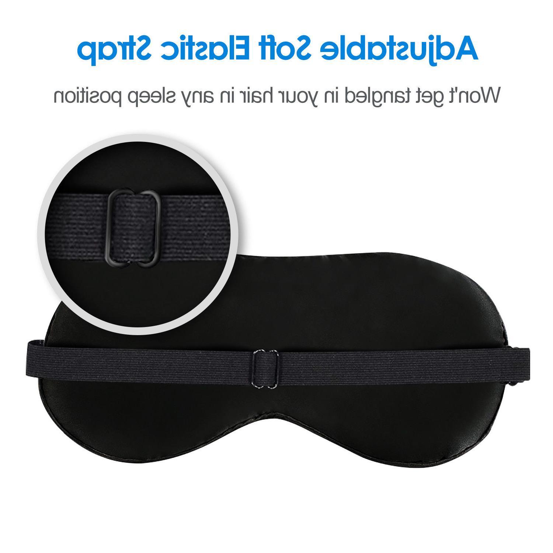 JEFlex Natural Silk Mask Blindfold Eye Mask