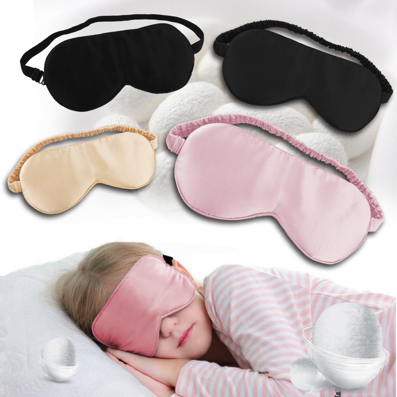 natural silk sleeping eye mask shade super