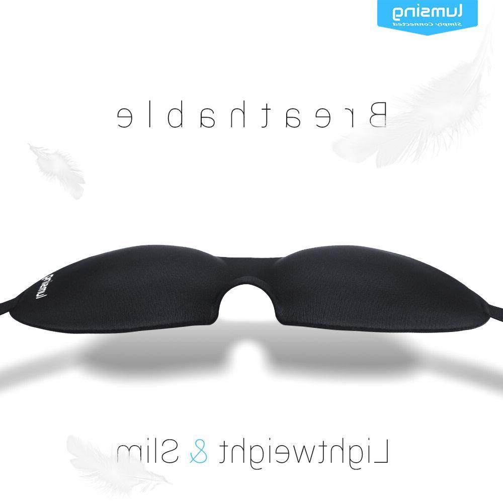 New 3D Sleep Eye Mask Soft Eyepatch Travel Relax Gift
