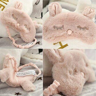 Ayygiftideas New Fashion Plush Rabbit Eye Sleeping Eye