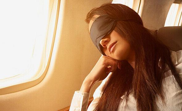 Men and Women Sleeping Eye for Travel