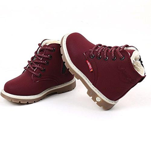 Children Martin Snow Boots Kids Casual Shoes