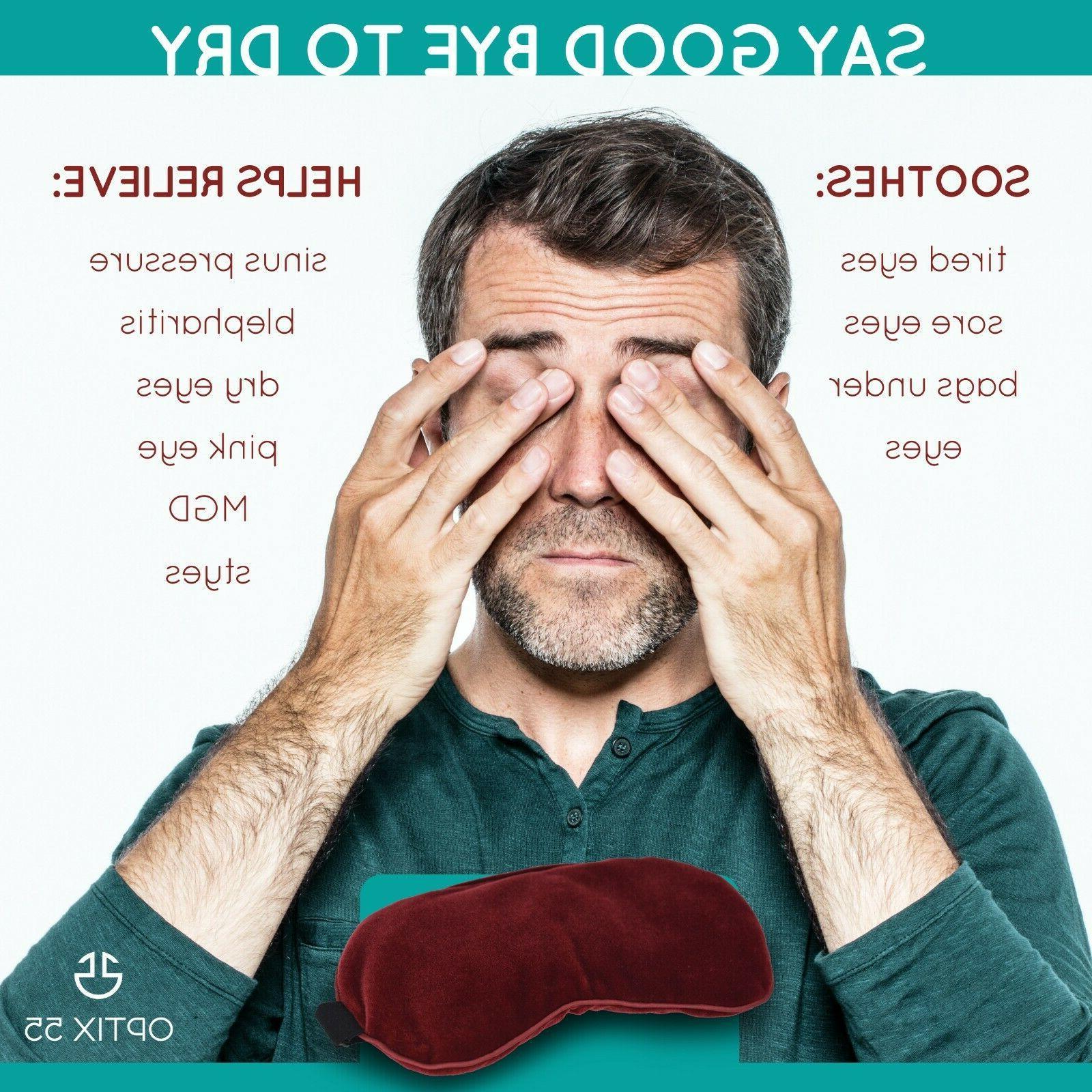 Plush Eye - Moist Heat Reusable