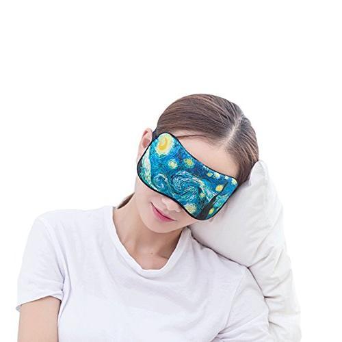 printing silk sleeping eyes mask