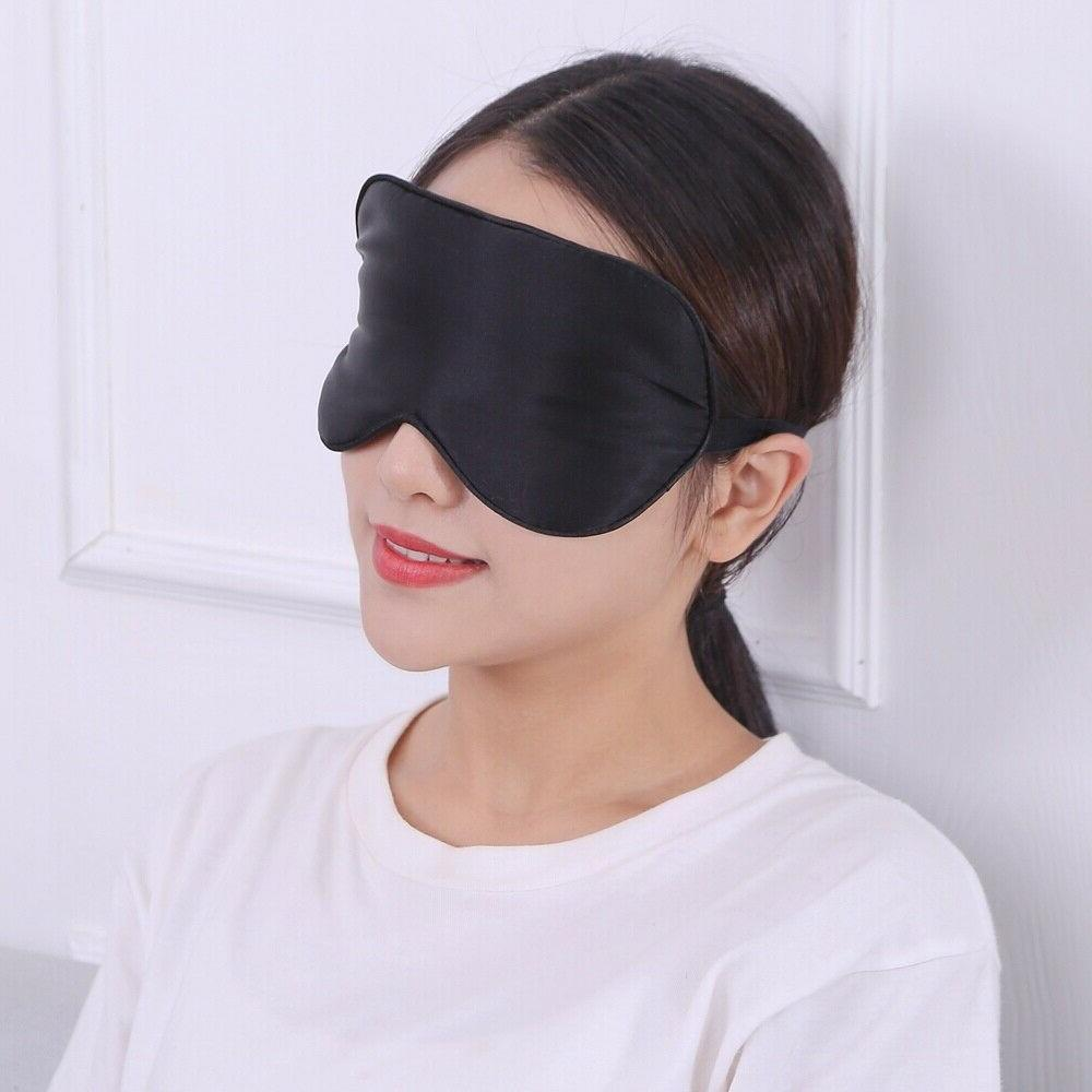 Pure Soft Padded Shade Cover Travel Sleep Relax Blindfold