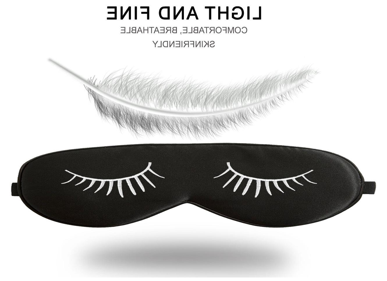 Fitglam Silk Sleep Mask / Therapy Gel Eye Mask