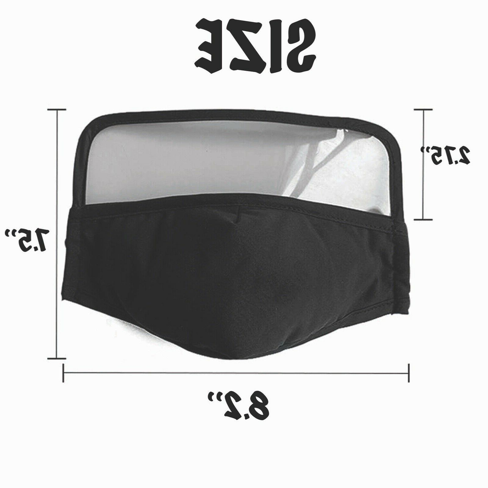 Reusable With Eye Shield Vent, Filter Pocket, Wire