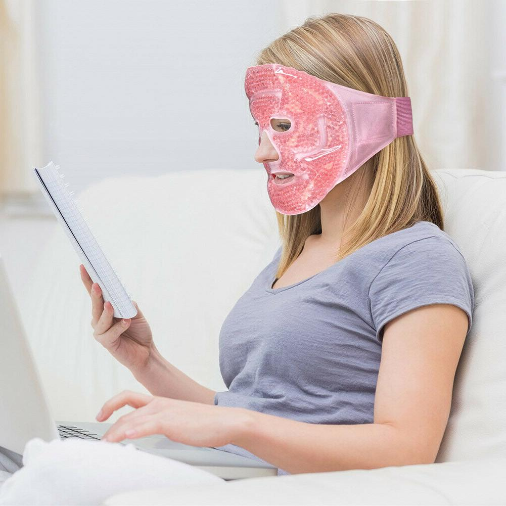 Reusable Hot mask Therapy Migraine Relief Relax