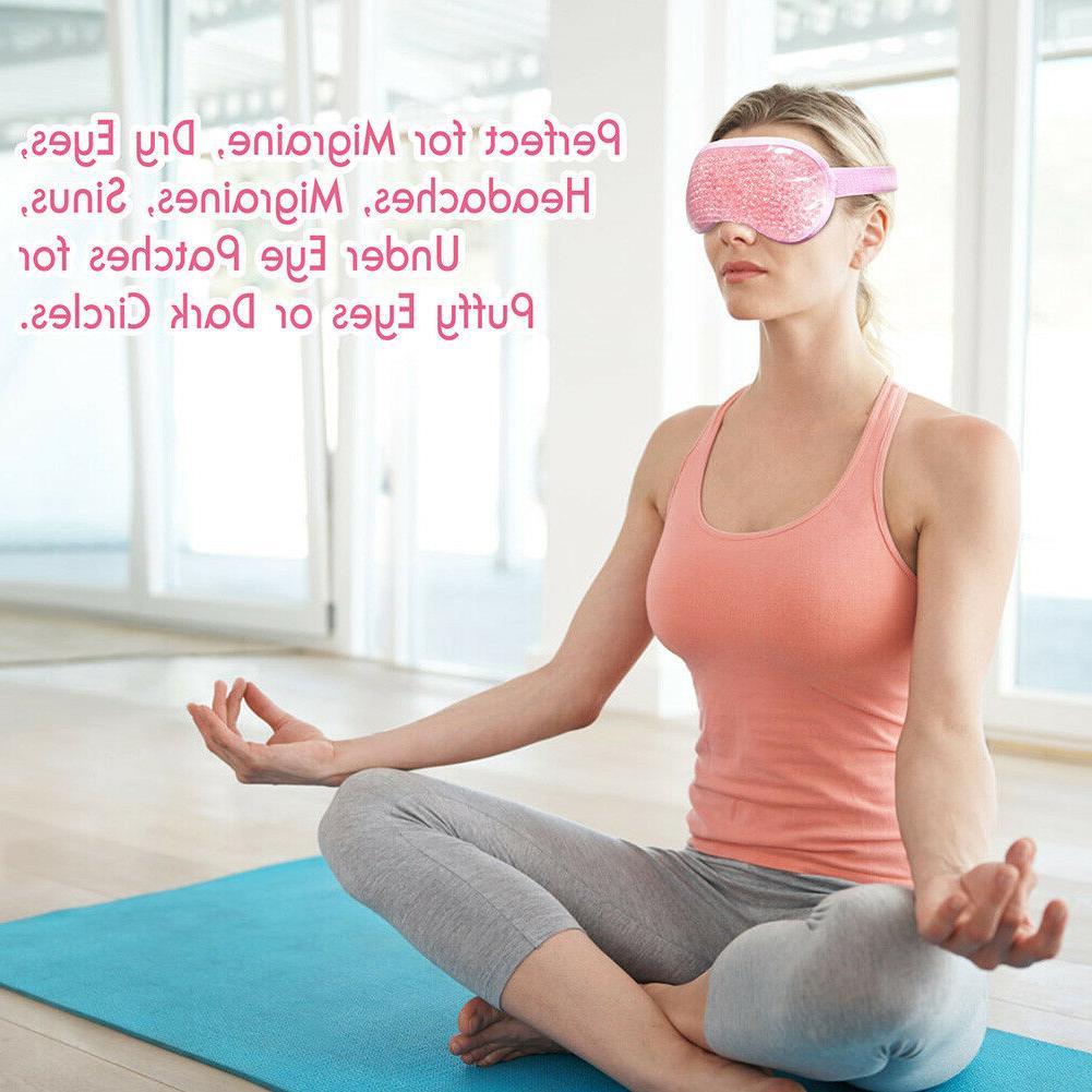 Reusable Cold Facial Eye Migraine Stress